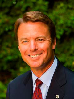 Senator John Edwards - Photo: Ralph Alswang