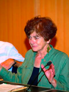 Frances Fox Piven - Photo: Peter Waldvogel