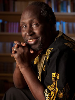 Ngũgĩ wa Thiong'o - Photo: Daniel Anderson, University of California, Irvine, Communications Department