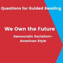 We Own The Future Questions For Guided Reading The New Press