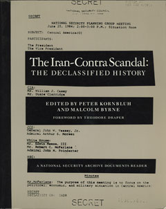 The Iran-Contra Scandal