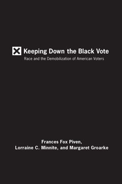 Keeping Down the Black Vote