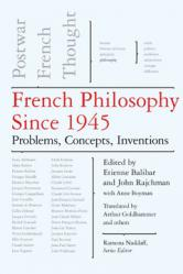 French Philosophy Since 1945