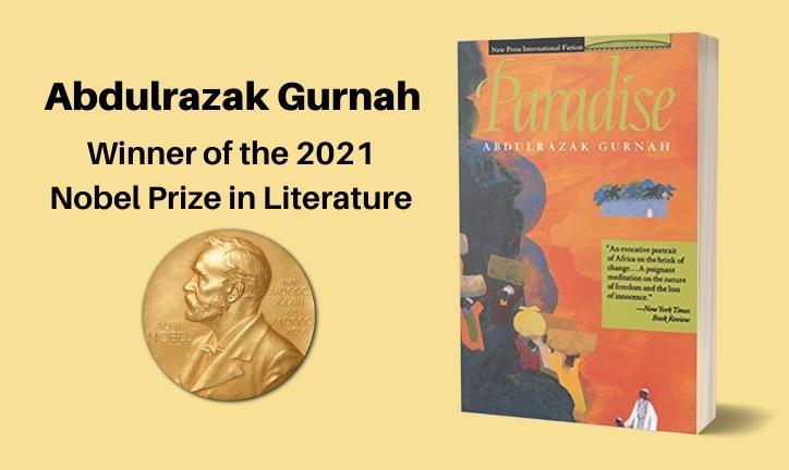 Abdulrazak Gurnah winner of the Nobel Prize in Literature