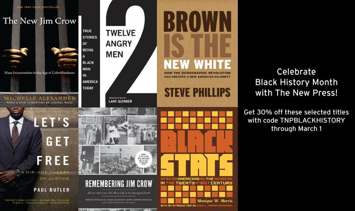 Get 30% off selected titles with code TNPBLACKHISTORY through March 1